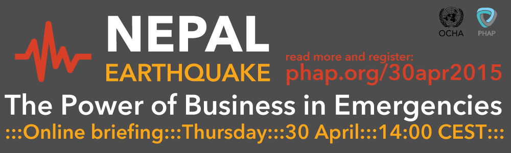 Online Briefing on the Nepal Earthquake