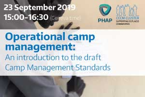 Operational camp management: An introduction to the Camp Management Standards