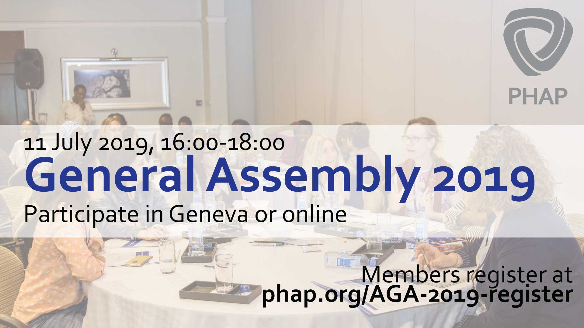 PHAP Annual General Assembly 2019