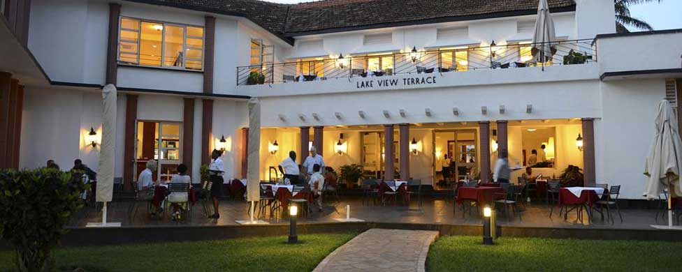 View of the Lake Victoria Hotel